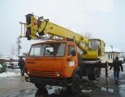 автокран КАМАЗ АD 18 (снимка)